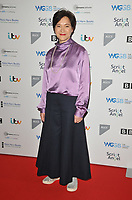 LONDON, ENGLAND - JANUARY 13: Kumiko Mendl at the Writers' Guild of Great Britain Awards 2020, Royal College of Physicians, St Andrews Place, Regent Park on Monday 13 January 2020 in London, England, UK. <br /> CAP/CAN<br /> ©CAN/Capital Pictures