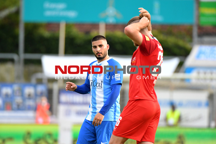 12.06.2020, Hänsch-Arena, Meppen, GER, 3.FBL, SV Meppen vs. Hallescher FC, <br /> <br /> im Bild<br /> Deniz Undav (SV Meppen, 9)<br /> <br /> <br /> DFL REGULATIONS PROHIBIT ANY USE OF PHOTOGRAPHS AS IMAGE SEQUENCES AND/OR QUASI-VIDEO<br /> <br /> Foto © nordphoto / Paetzel