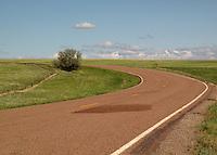 Lonely highways, Montana.