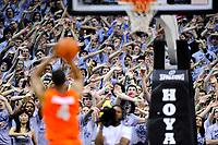 NCAA Basketball - Georgetown Hoyas vs. Syracuse Orangemen<br /> <br /> Copyright Alan P. Santos