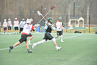 Stevenson men's club lacrosse opens their season at home with a 12-6 victory over East Stroudsburg at Mustang Stadium in Owings Mills on Saturday afternoon.