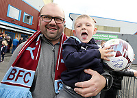 A fans wait for autographs as the Burnley players arrive ahead of kick-off at Turf Moor<br /> <br /> Photographer Rich Linley/CameraSport<br /> <br /> The Premier League - Burnley v Everton - Saturday 5th October 2019 - Turf Moor - Burnley<br /> <br /> World Copyright © 2019 CameraSport. All rights reserved. 43 Linden Ave. Countesthorpe. Leicester. England. LE8 5PG - Tel: +44 (0) 116 277 4147 - admin@camerasport.com - www.camerasport.com