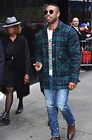 NEW YORK, NY - MAY 7: Michael B. Jordan seen at Good Morning America in New York City on May 7, 2018. Credit: RW/MediaPunch