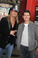 Bret Michaels and Tom Cruisee at the premiere of Warner Bros. Pictures' 'Rock of Ages' at Grauman's Chinese Theatre on June 8, 2012 in Hollywood, California. © mpi20/MediaPunch Inc. NORTEPHOTO.COM