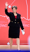 United States Senator Joni Ernst (Republican of Iowa) arrives to speak at the Conservative Political Action Conference (CPAC) at the Gaylord National at National Harbor, Maryland on Thursday, February 26, 2015.<br /> Credit: Ron Sachs / CNP