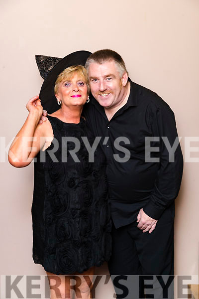 Siobhan Keane (Lixnaw Businesses) and Tim Landers (Jackie O'Mahoney School of Performing Arts) Dancers at the John Mitchels GAA 'Strictly Come Dancing' at Ballygarry House Hotel on Sunday night.