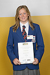Yachting Girls Winner - Susannah Pyatt. ASB College Sport Young Sportsperson of the Year Awards 2006, held at Eden Park on Thursday 16th of November 2006.<br />