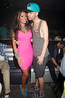 Elizabeth Ann Vashisht and Jason Christopher Peters attend A Bad Girls Club Night Out at Splash in New York City. August 8, 2012. &copy;&nbsp;Diego Corredor/MediaPunch Inc. /Nortephoto.com<br />