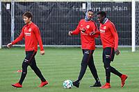 Daichi Kamada (Eintracht Frankfurt), Sebastien Haller (Eintracht Frankfurt), Danny da Costa (Eintracht Frankfurt) - 14.11.2017: Eintracht Frankfurt Training, Commerzbank Arena