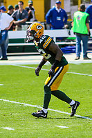 Green Bay Packers safety Morgan Burnett (42) during a National Football League game against the Seattle Seahawks on September 10, 2017 at Lambeau Field in Green Bay, Wisconsin. Green Bay defeated Seattle 17-9. (Brad Krause/Krause Sports Photography)