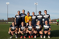 Sky Blue FC starting XI. Sky Blue FC defeated the Western New York Flash 1-0 during a National Women's Soccer League (NWSL) match at Yurcak Field in Piscataway, NJ, on April 14, 2013.