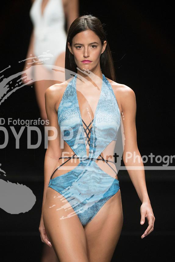 Model Begona Martin poses ( Dani Martin girlfriend)