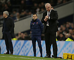Burnley's manager Sean Dyche checks his watch during the Premier League match at the Tottenham Hotspur Stadium, London. Picture date: 7th December 2019. Picture credit should read: Paul Terry/Sportimage