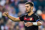 Aleksandar Dragovic of Bayer 04 Leverkusen reacts during their 2016-17 UEFA Champions League Round of 16 second leg match between Atletico de Madrid and Bayer 04 Leverkusen at the Estadio Vicente Calderon on 15 March 2017 in Madrid, Spain. Photo by Diego Gonzalez Souto / Power Sport Images