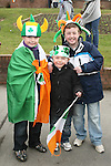 Jack, Andrew and Matthew McFadden at the 2010 St Patrick's Day Parade...Photo NEWSFILE/Jenny Matthews.(Photo credit should read Jenny Matthews/NEWSFILE)....This Picture has been sent you under the condtions enclosed by:.Newsfile Ltd..The Studio,.Millmount Abbey,.Drogheda,.Co Meath..Ireland..Tel: +353(0)41-9871240.Fax: +353(0)41-9871260.GSM: +353(0)86-2500958.email: pictures@newsfile.ie.www.newsfile.ie.FTP: 193.120.102.198.