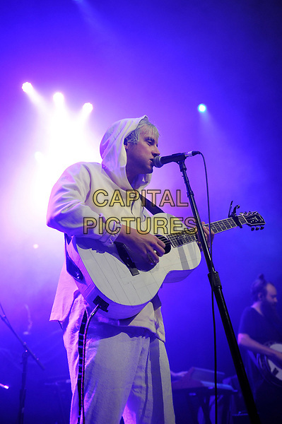 LONDON, ENGLAND - NOVEMBER 1: Judah Akers of 'Judah &amp; The Lion' performing at Camden Roundhouse on November 01, 2017 in London, England.<br /> CAP/MAR<br /> &copy;MAR/Capital Pictures