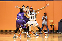 SAN ANTONIO, TX - NOVEMBER 6, 2018: The University of Texas at San Antonio Roadrunners defeat the Concordia University Texas Tornados 78-51 at the UTSA Convocation Center. (Photo by Jeff Huehn)