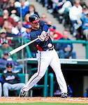 3 March 2010: Atlanta Braves' outfielder Matt Diaz in action during a Grapefruit League game against the New York Mets at Champion Stadium in the ESPN Wide World of Sports Complex in Orlando, Florida. The Braves defeated the Mets 9-5 in the Spring Training matchup. Mandatory Credit: Ed Wolfstein Photo