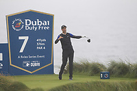 Ross Fisher (ENG) on the 7th tee during Round 2 of the Irish Open at LaHinch Golf Club, LaHinch, Co. Clare on Friday 5th July 2019.<br /> Picture:  Thos Caffrey / Golffile<br /> <br /> All photos usage must carry mandatory copyright credit (© Golffile | Thos Caffrey)