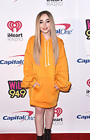 SAN FRANCISCO, CA - DECEMBER 01:   Sabrina Carpenter attends the 2018 WiLD 94.9's FM's iHeartRadio Jingle Ball at Bill Graham Civic Auditorium on December 1, 2018 in San Francisco, California.   <br /> CAP/MPI/IS<br /> &copy;MPIISCapital Pictures