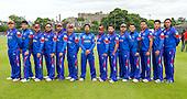 ICC World T20 Qualifier - GROUP B MATCH - NETHERLANDS V AFGHANISTAN at Grange CC, Edinburgh - Afghanistan squad — credit @ICC/Donald MacLeod - 09.07.15 - 07702 319 738 -clanmacleod@btinternet.com - www.donald-macleod.com