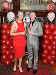 Carol and Gary Brodigan pictured at the Valentine Ball in the Grove House Dunleer. Photo:Colin Bell/pressphotos.ie