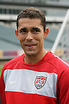 28 May 2010: Herculez Gomez. The United States Men's National Team held a practice session at Lincoln Financial Field in Philadelphia, Pennsylvania the day before playing Turkey in their final home friendly prior to the 2010 FIFA World Cup in South Africa.