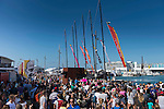 March 14, 2015. Crowd during The New Zealand Herald In-Port Race