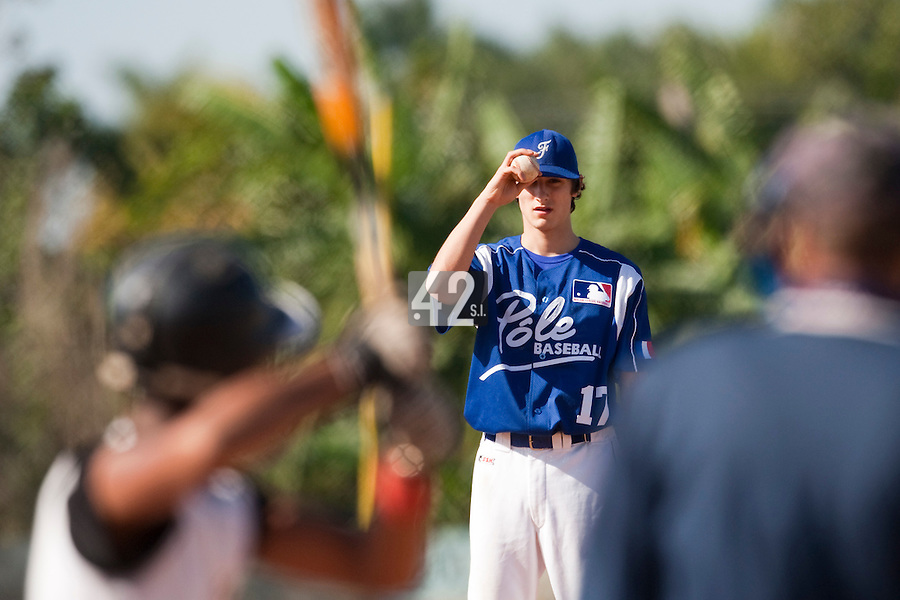 BASEBALL - POLES BASEBALL FRANCE - TRAINING CAMP CUBA - HAVANA (CUBA) - 13 TO 23/02/2009 - ELOI SECLEPPE (FRANCE)