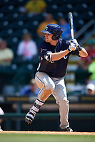 Charlotte Stone Crabs designated hitter Ryan Boldt (20) at bat during a game against the Bradenton Marauders on April 9, 2017 at LECOM Park in Bradenton, Florida.  Bradenton defeated Charlotte 5-0.  (Mike Janes/Four Seam Images)