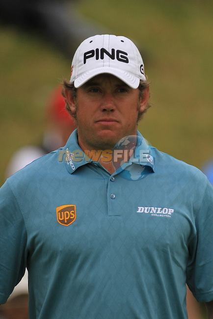Lee westwood marching up to the 9th green on day three of the Alstom Open de France at .Golf National St Quentin en Yvelines, Paris France, 3/7/10.. Picture Fran Caffrey/www.newsfile.ie