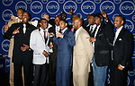 The Boston Celtics winners of the 'Best Team' award pose in the press room at the 2008 ESPY Awards held at NOKIA Theatre L.A. LIVE on July 16, 2008 in Los Angeles, California.