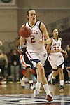 LAS VEGAS, NV - MARCH 7:  Louella Tomlinson during Pepperdine's 62-56 win over the St. Mary's Gaels in the 2010 Zappos West Coast Conference Women's Basketball Championships on March 7, 2010 at Orleans Arena in Las Vegas Nevada.