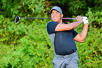 Jhonattan Vegas (VEN) watches his tee shot on 3 during round 1 of the Honda Classic, PGA National, Palm Beach Gardens, West Palm Beach, Florida, USA. 2/23/2017.<br /> Picture: Golffile | Ken Murray<br /> <br /> <br /> All photo usage must carry mandatory copyright credit (&copy; Golffile | Ken Murray)