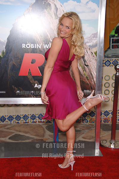 "Actress KRISTIN CHENOWETH at the Los Angeles premiere of her new movie ""RV""..April 23, 2006  Los Angeles, CA.© 2006 Paul Smith / Featureflash"