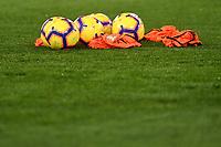 Balls on the picth ahead the Serie A 2018/2019 football match between Lazio and Empoli at stadio Olimpico, Roma, February 7, 2019 <br />  Foto Andrea Staccioli / Insidefoto