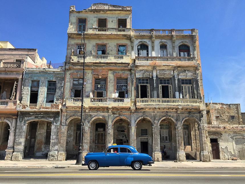 The Malecon in Havana, Cuba. MARK TAYLOR GALLERY
