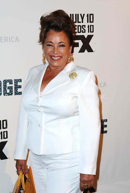 WWW.ACEPIXS.COM<br /> <br /> July 8 2013, LA<br /> <br /> Alma Martinez arriving at the series premiere of FX's 'The Bridge' at DGA Theater on July 8, 2013 in Los Angeles, California. <br /> <br /> By Line: Peter West/ACE Pictures<br /> <br /> <br /> ACE Pictures, Inc.<br /> tel: 646 769 0430<br /> Email: info@acepixs.com<br /> www.acepixs.com