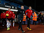 Billy Sharp of Sheffield Utd and Matt Prestridge lead the players put for warm up during the Championship match at Villa Park Stadium, Birmingham. Picture date 23rd December 2017. Picture credit should read: Simon Bellis/Sportimage