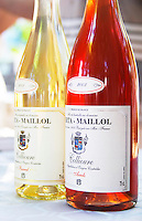 Cuvee Barral and Arrels. Domaine Berta-Maillol. Roussillon. France. Europe. Bottle.