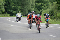 eventual stage winner Jos&eacute; Gon&ccedil;alves (POR/Katusha-Alpecin) is part of a thinned out breakaway group<br /> <br /> Ster ZLM Tour (2.1)<br /> Stage 4: Hotel Verviers &gt; La Gileppe (Jalhay)(190km)