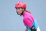 Sakura Yosozumi (JPN), <br /> AUGUST 28, 2018 - Skateboarding : <br /> women's Park practice<br /> at Jakabaring Sport Center Skatepark <br /> during the 2018 Jakarta Palembang Asian Games <br /> in Palembang, Indonesia. <br /> (Photo by Yohei Osada/AFLO SPORT)