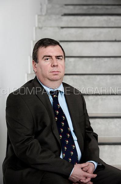 Herbert De Loose, Secretary of Duvel Moortgat UK Ltd and Chief Financial Officer of Duvel Moortgat nv brewery (Breendonk, 18/03/2011)