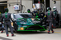 10th January 2020; The Bend Motosport Park, Tailem Bend, South Australia, Australia; Asian Le Mans, 4 Hours of the Bend, Practice Day; The number 77 D'Station Racing GT driven by Satoshi Hoshino, Tomonobu Fujii, Ross Gunn during the team test - Editorial Use
