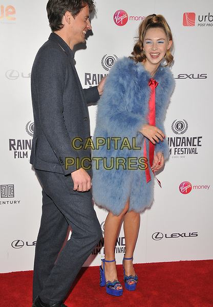 Jack Eve and Hermione Corfield at the &quot;Bees Make Honey&quot; Raindance Film Festival UK film premiere, Vue West End cinema, Leicester Square, London, England, UK, on Saturday 23 September 2017.<br /> CAP/CAN<br /> &copy;CAN/Capital Pictures