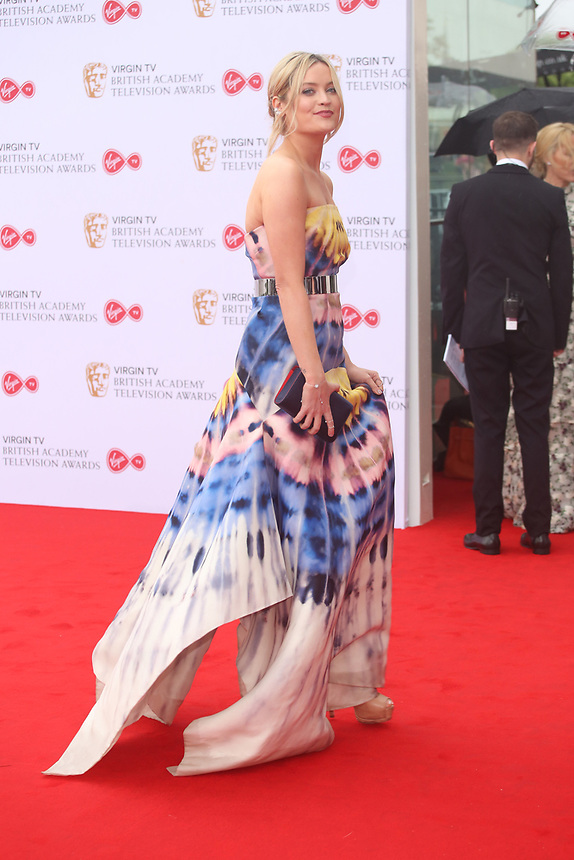 Laura Whitmore<br />  arriving at the Bafta Tv awards 2017. Royal Festival Hall,London  <br /> ©Ash Knotek