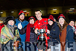 Geraldine Bowlder, Eoghan McGillicuddy, Helen, Colin McGillycuddy Triona O'Neill and Aoife McGllycuddy Glenbeigh/Glencar team celebrates  after defeating Gabrel Rangers in the Munster Junior cup final in Mallow on Sunday