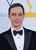"""JIM PARSONS - 64TH PRIME TIME EMMY AWARDS.Nokia Theatre Live, Los Angelees_23/09/2012.Mandatory Credit Photo: ©Dias/NEWSPIX INTERNATIONAL..**ALL FEES PAYABLE TO: """"NEWSPIX INTERNATIONAL""""**..IMMEDIATE CONFIRMATION OF USAGE REQUIRED:.Newspix International, 31 Chinnery Hill, Bishop's Stortford, ENGLAND CM23 3PS.Tel:+441279 324672  ; Fax: +441279656877.Mobile:  07775681153.e-mail: info@newspixinternational.co.uk"""