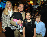 Craig S. De Serf and his wife Michelle and their children Kendall, Madison and Canon at the Fall Fashion show at the Galleria Thursday  Oct. 16,2008. (Dave Rossman/For the Chronicle)