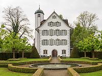 Schloss Hahnberg in Berg, Kanton St. Gallen, Schweiz<br /> castle Hahnberg in Berg, Canton St. Gallen, Switzerland